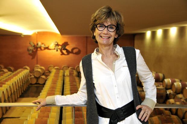 Martine Caseneuve of Chateau Paloumey. Photo Pierre Wetzel