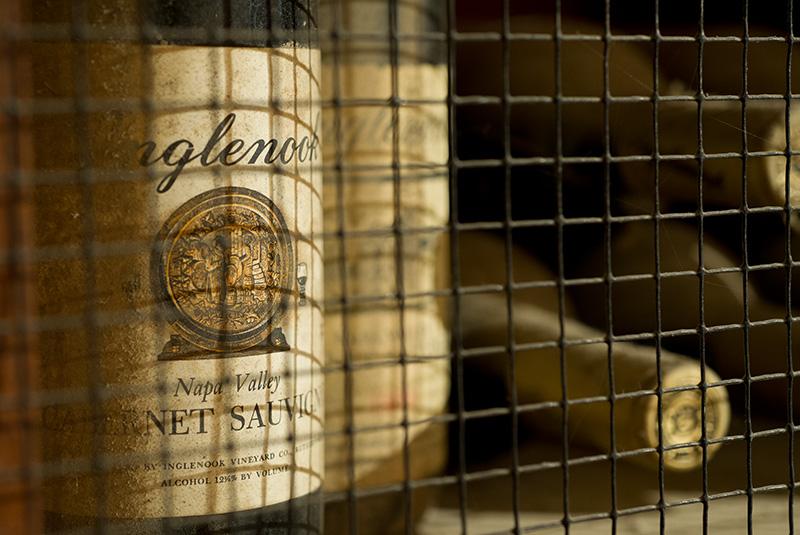 Inglenook Estate Cabernet bottle shot