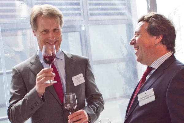 Fladgate Partnership CEO Adrian Bridge (left) and Wine Director David Guimaraens