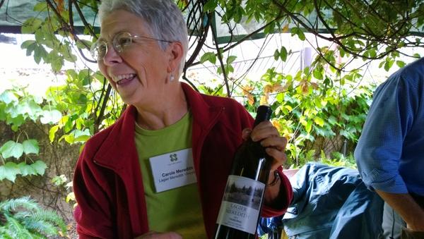 Carol Meredith of Lagier Meredith wines